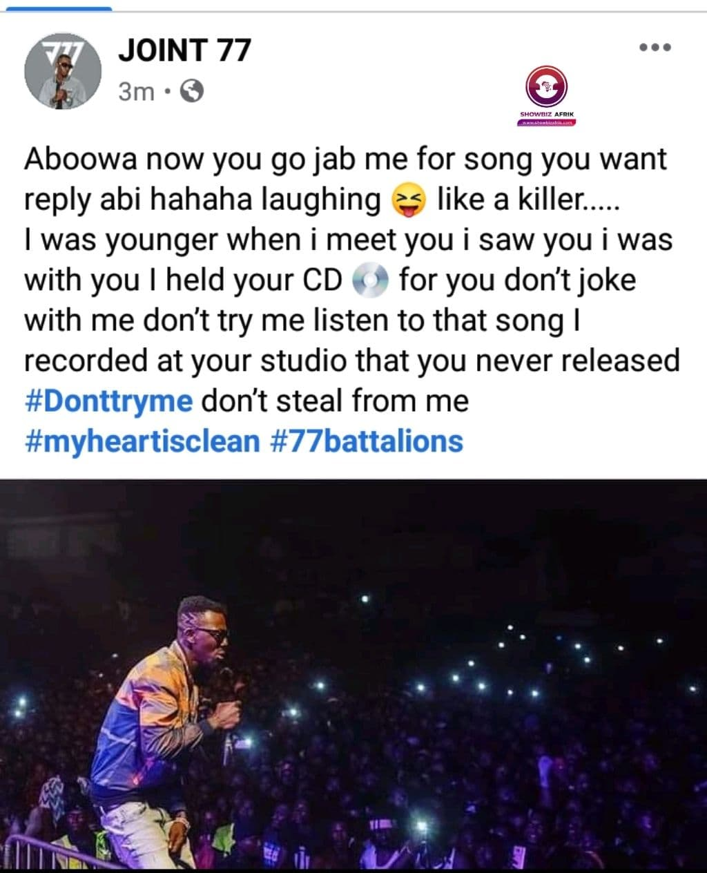 shatta wale and joint 77